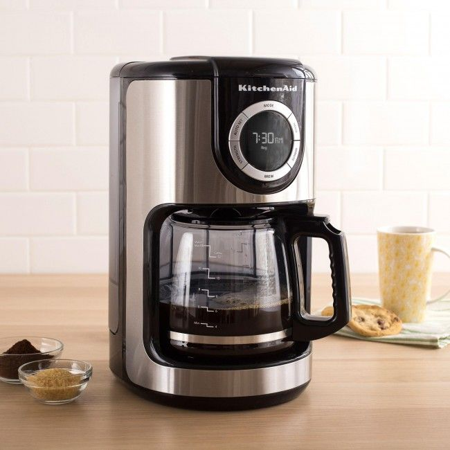 Kitchenaid Grind And Brew Coffee Maker : 17 Best images about Caffeine Fiend on Pinterest Porcelain mugs, Burr coffee grinder and ...