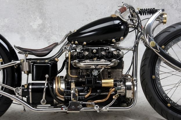 Did Harley Davidson Build A Inline  Cylinder