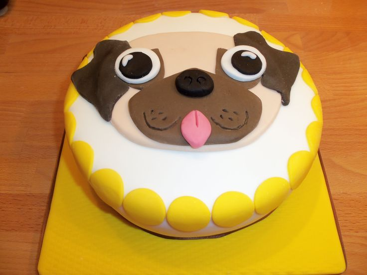 17 Best Ideas About Pug Cake On Pinterest Pug Birthday