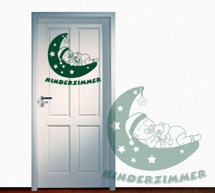 Best Wandtattoo T raufkleber Kinderzimmer Mond Baby Sterne Dekorieren Sie Ihr Kinderzimmer