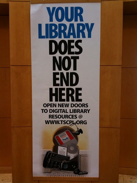 When you leave our library by David Lee King, via Flickr. Some rights resereved