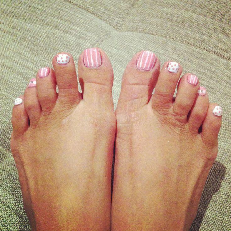 55 best cute toe nail designs images on pinterest pedicure super feminine geometric toe nail design read more on producingfashion prinsesfo Images
