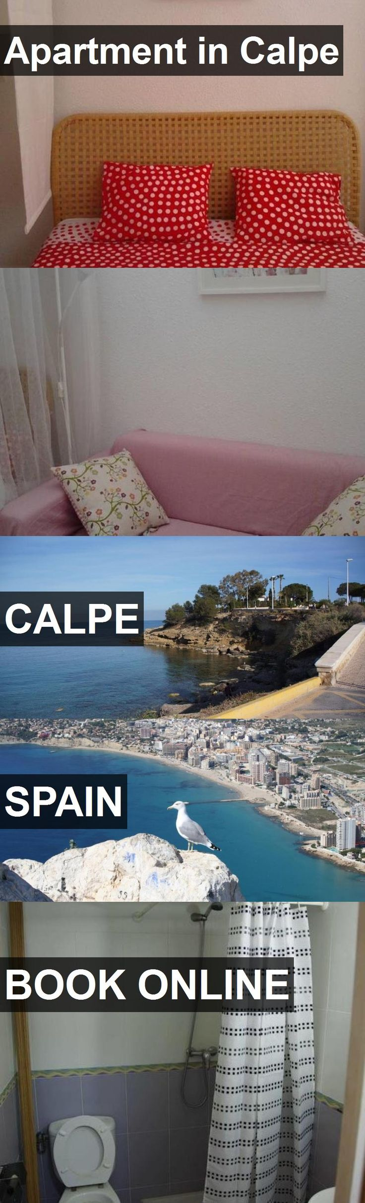 Apartment in Calpe in Calpe, Spain. For more information, photos, reviews and best prices please follow the link. #Spain #Calpe #travel #vacation #apartment