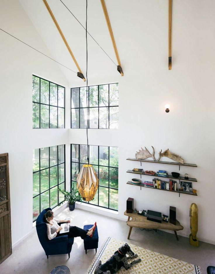 Nice Maison Fenêtres Style Verrière Du0027atelier