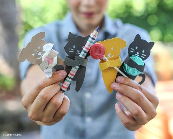 Animais para lembrancinha infantil podem ser usados em vários temas de festinhas para crianças (Foto: liagriffith.com):