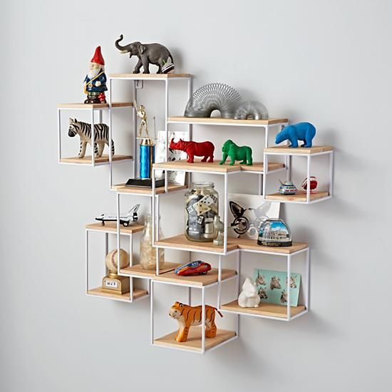 1000+ Ideas About Bedroom Wall Shelves On Pinterest