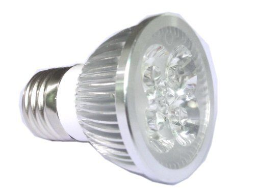 LENBO High Power Warm White E27 4W LED spotlight Bulb Spot Light down Lamp AC85V-265V LS72 by LENBO. $5.70. 1. LED type:High Power LED spotlight 2. Color: Warm White 3. LED Quantity: 4*1W High Power LED 4. LED Base: E27 5. View angle: 30 degree- 45 degree 6. Working input Voltage: AC 85V-265V 7. Power : 4W 8. Temp. Color: 2800K-3500K 9. Size : 50*65mm 10. LM: 320LM-360LM 11. Dimmer :Non-Dimmable