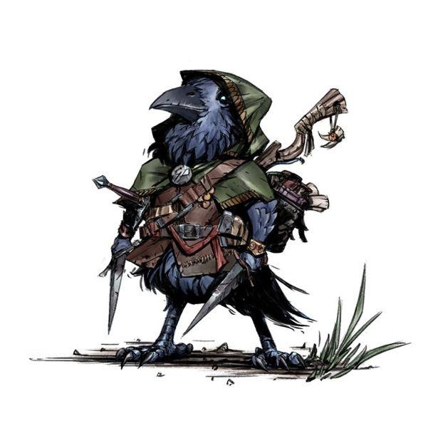 Shink Shink the Kenku Rogue | Fantasy Stuff in 2019