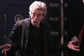 best unscripted moment in Doctor Who history. I love how Peter tears up at the thought of his 'granddaughter' and how he promised he would go and see her and never did. It's so beautiful and he just becomes so completely absorbed in the character he's playing. So beautiful, he's truly an amazing actor!
