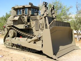 Armored Caterpillar D9R Bulldozer