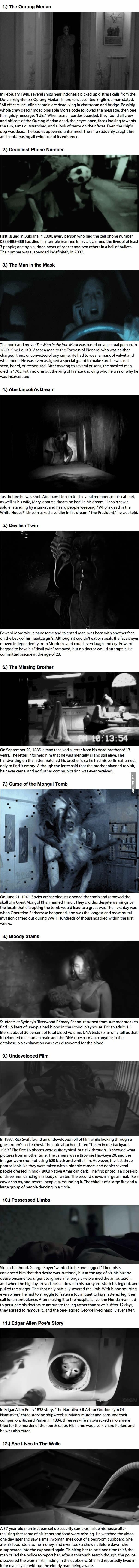 I'll Have To Leave Every Light On Tonight Because Of These 12 Creepy Stories!