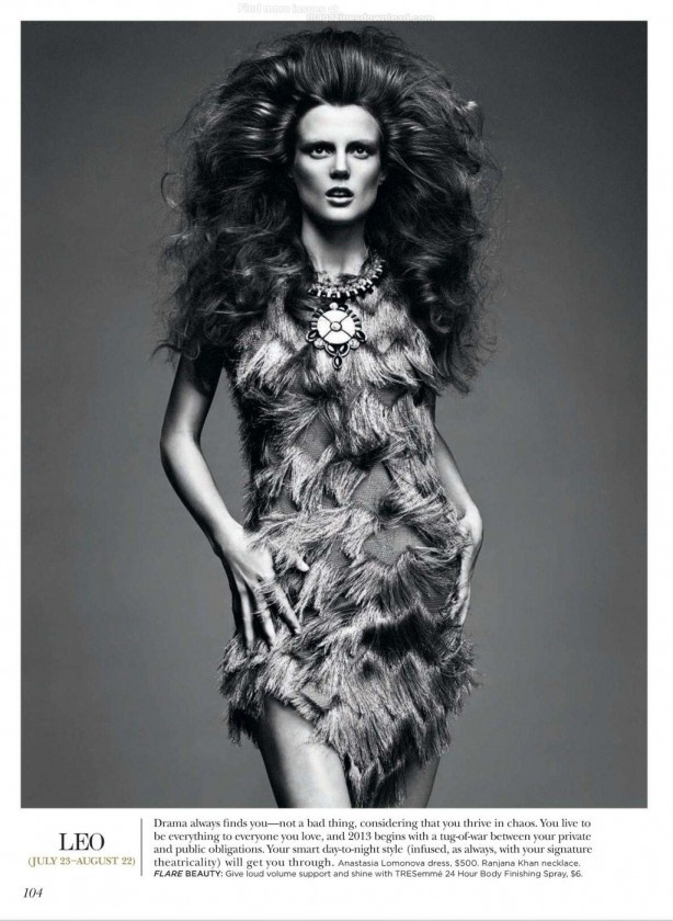 awesome FLARE MAGAZINE | Editorial Dezembro 2012 | Ashtyn Franklin por Chris Nicholls