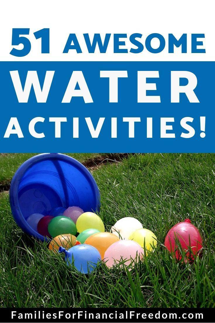 51 Best Water Activities!