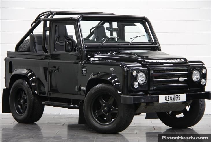 LAND ROVER DEFENDER 90 SVX TWISTED SOFT T... for sale - Classic & Sports Car (Ref North Yorkshire)