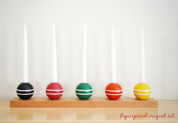 17 Best Images About Croquet Repurposed On Pinterest