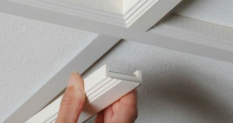 StyleStix - molding covers for drop ceiling