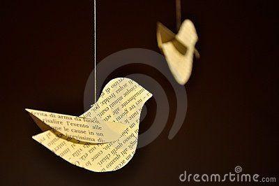 Decorative Paper Birds