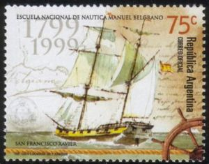 "200 years of National Nautic School ""Manuel Belgrano"""