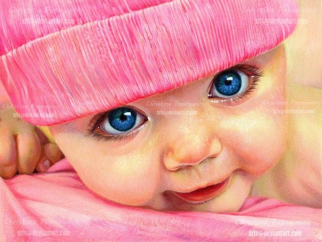 25 Hyper-Realistic Color Pencil Drawings By Christina