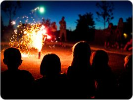 How to keep children safe from burn injuries during the summer months.