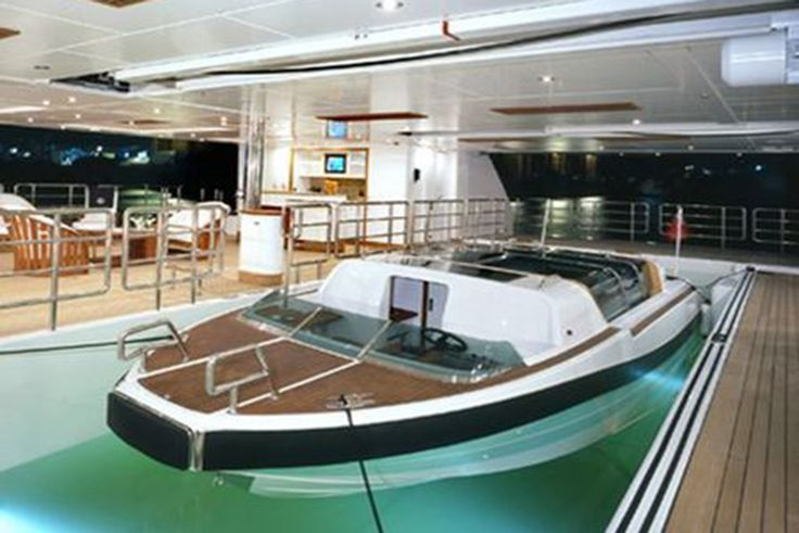 1000 images about yacht tenders on pinterest for Boat garages