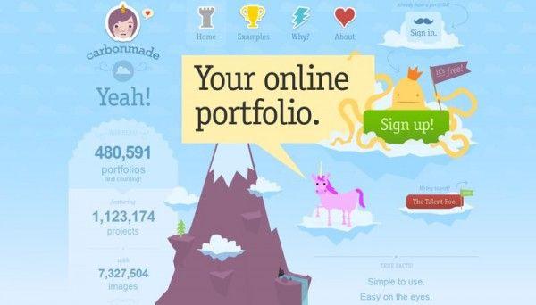 para publicar tu portafolio online gratis