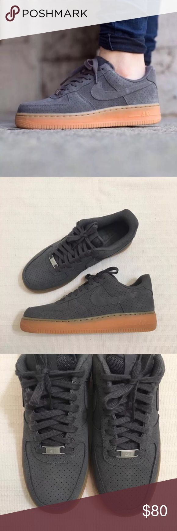 Women's Nike Air Force 1 '07 Mid Suede Sneakers Women's Nike Air Force 1 '07 Mid Suede Sneakers keeps you looking cool with its timeless style. Style/Color: 749263-001  * Women's size 9  * NEW in box (no lid) * No trades * 100% authentic Nike Shoes Sneakers