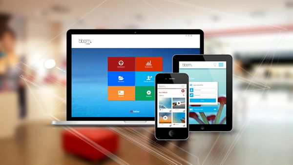 Bloom software_Interface on Web Design Served