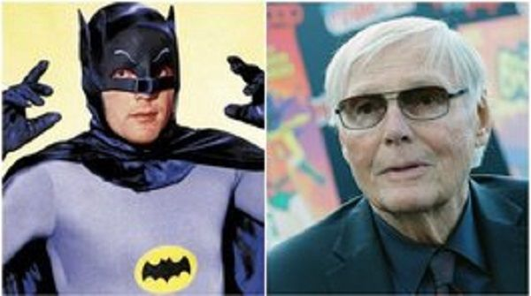 La Bati-señal en honor a Adam West