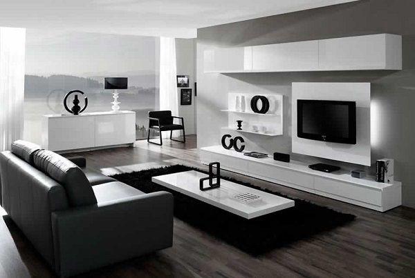 Sala minimalista buscar con google muebles para sal n - Muebles salon diseno minimalista ...