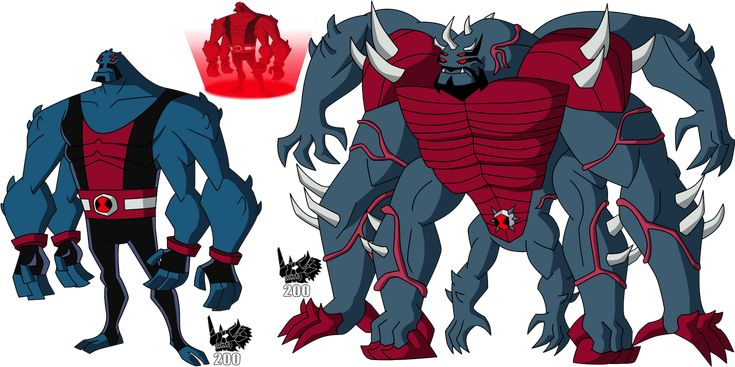 Ben 10 Ultimate Four Arms: Ultimate Four Arms By RZGMON200 On