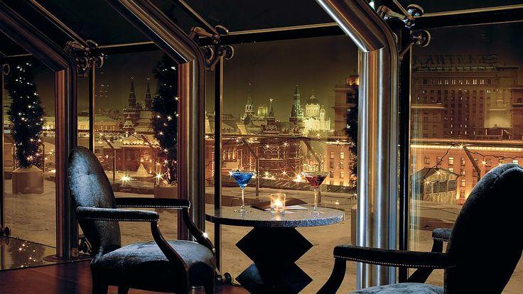 Moscow hotel Ararat Hyatt Lounge bar