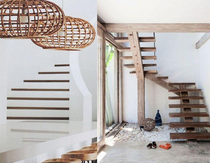 25 beste idee n over houten treden alleen op pinterest tuintrap houten terrassen en stappen - Houten trap interieur ...