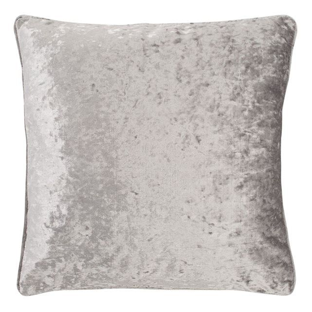 Housse de coussin Senda 45x45 cm gris