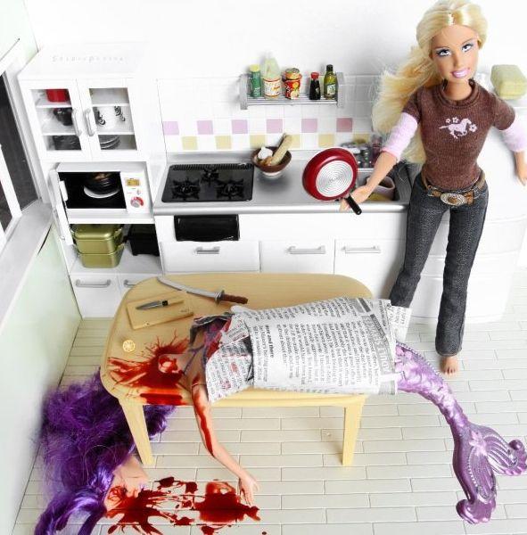 """Killer Barbie ... """"Fish for Dinner!!"""" ..."""