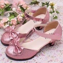 Roze Glitter Schoenen Met Hakje