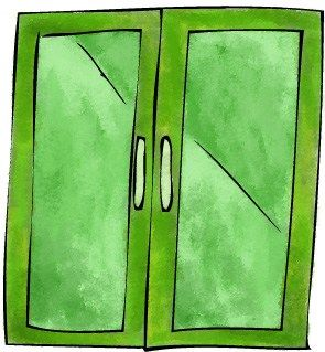 Green glass doors. Kids can guess in teams about the word rules which are allowed - the game conductor will give up to six clues in the form of I am taking ____ through green glass doors but not _____ to illustrate the rule.