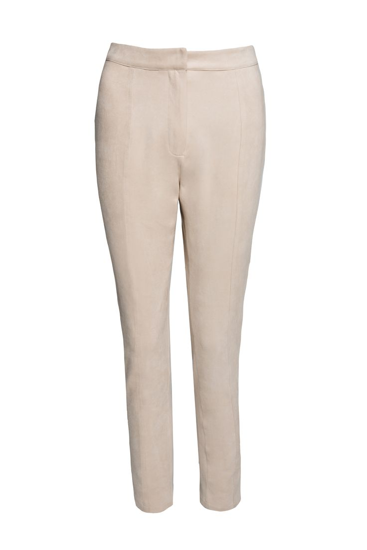 Panette Suede Pants by Misha Collection available at MELIESTORE.COM