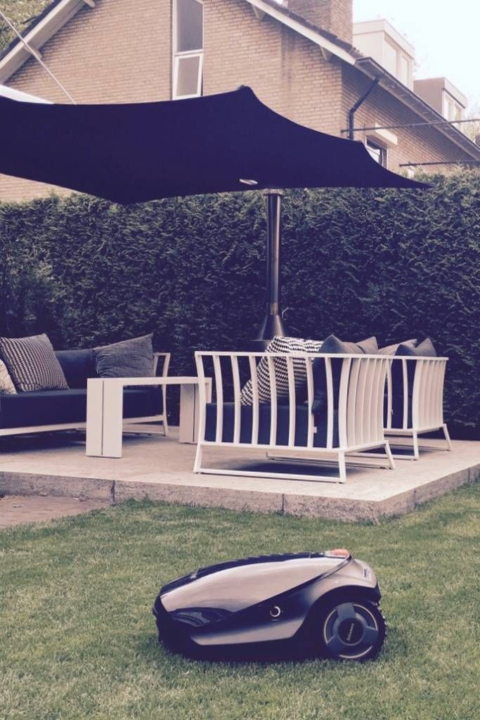 #tuin #modern #umbrosa #specrtra #borek #robomow #kopen #puurgroen #omnimatic #gras #lounge #zithoek