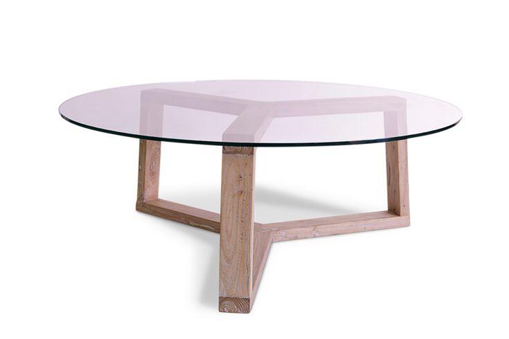M s de 25 ideas incre bles sobre mesa de centro redonda de - Mesa transparente ikea ...