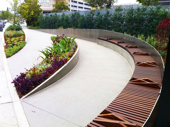 Levine park west hollywood usa hok world landscape for Landscape design usa