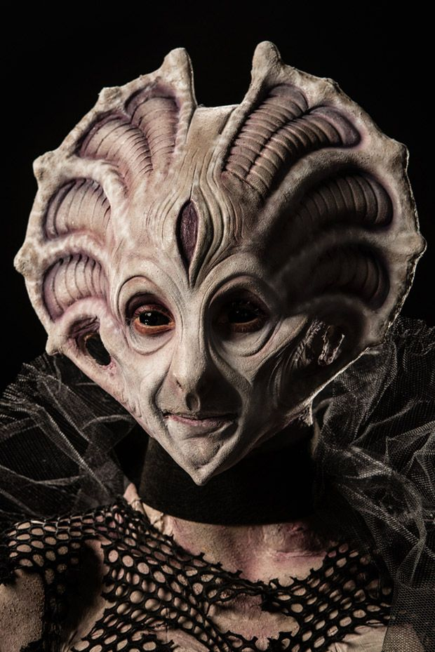 Face Off Syfy winning looks | ... but her face is way too stiff and the head looks disproportionately