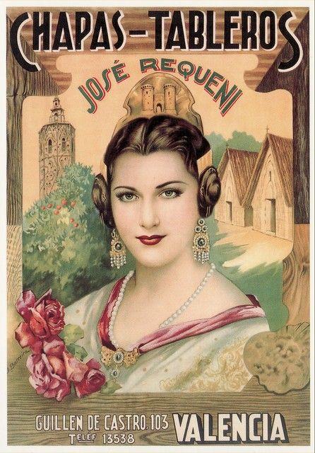 235 best images about vintage crate labels on pinterest - Vintage valencia ...