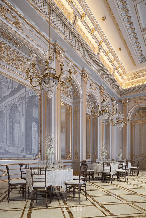 The White Palace On Behance With Images Baroque Interior