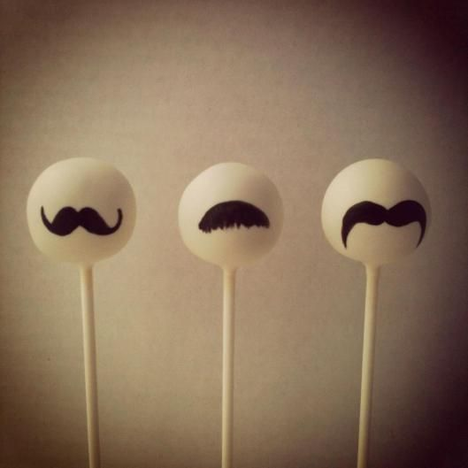Mustache Cake Pops « KC Bakes
