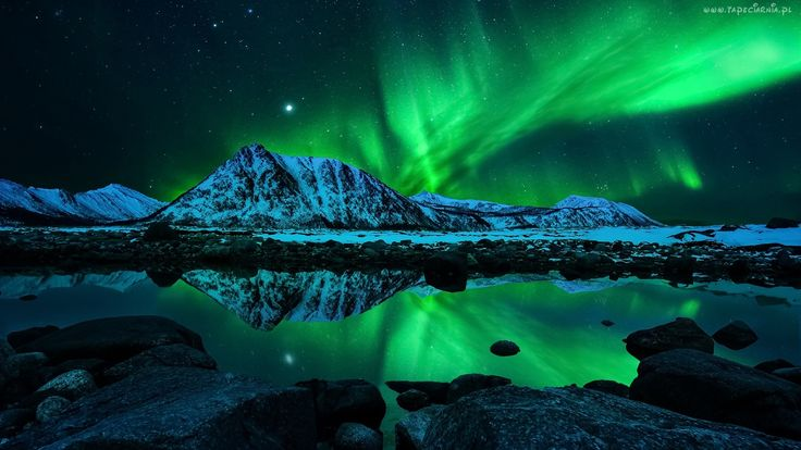 Góry, Gwiazdy, Zorza, Polarna