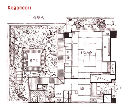 onsen plans google search japanese house plans japanese house traditional japanese house. Black Bedroom Furniture Sets. Home Design Ideas