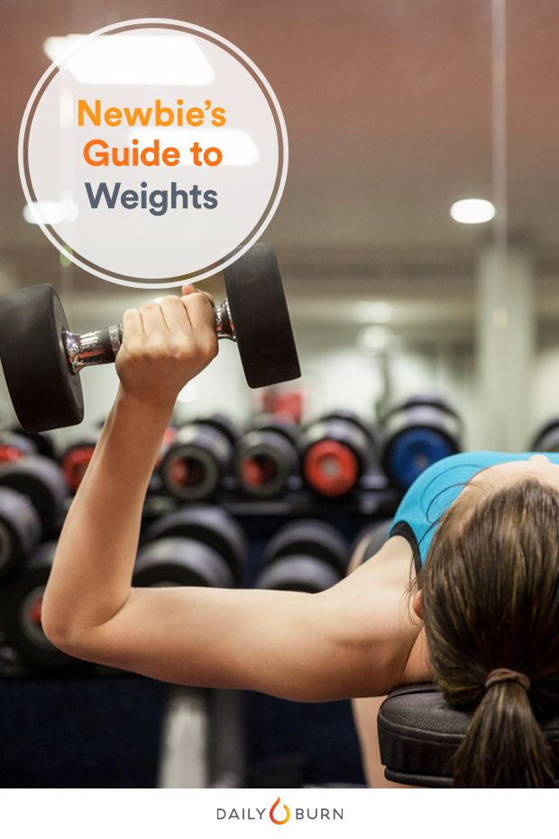 Strength Training for Beginners: Your Guide to Reps, Sets and Weight via @dailyburn