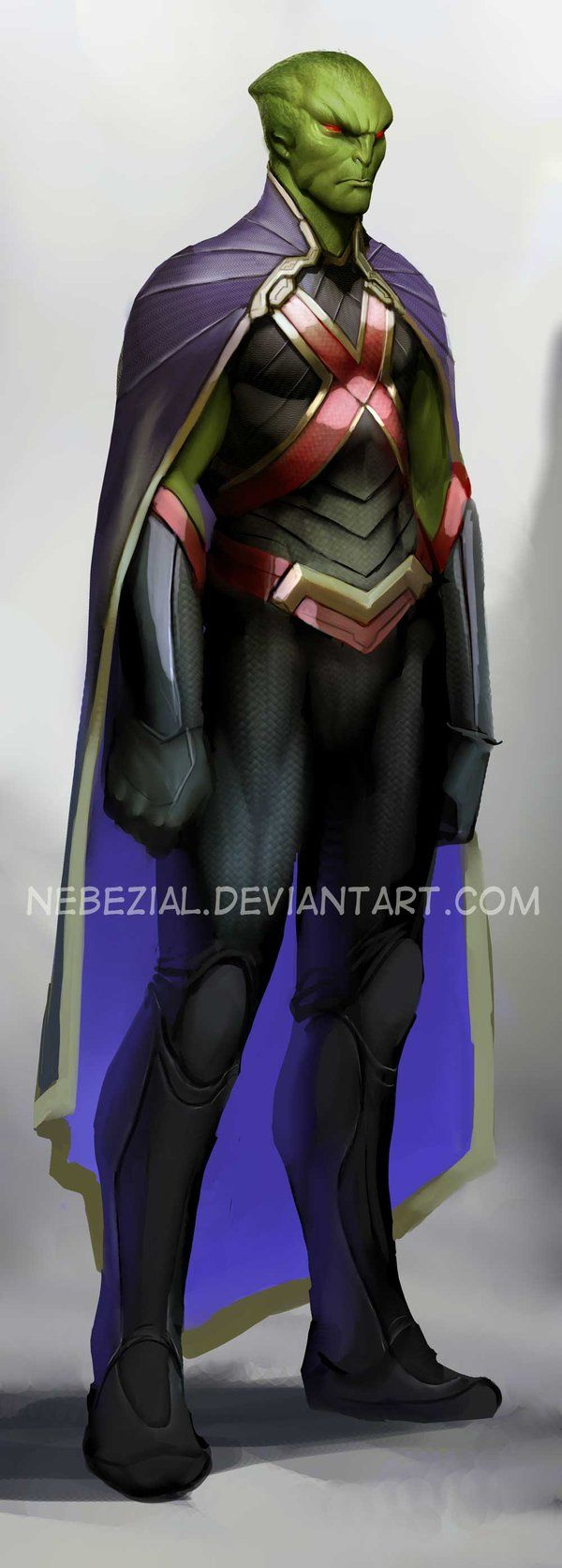 martian manhunter...i just love that name by *nebezial on deviantART