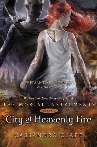 "City of Heavenly Fire  ""Lives will be lost, love sacrificed, and the whole world will change. Who will survive the explosive sixth and final installment of the Mortal Instruments series?"""